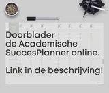 Zwarte Academische SuccesPlanner '20-'21_
