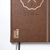 SuccesPlanner Notes Chocoladebruin_
