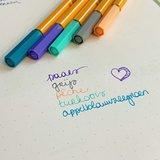 Set van 5 Stabilo fineliners - kleurenthema 'vintage'_
