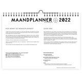 NIEUW! MaandPlanner 2022 _