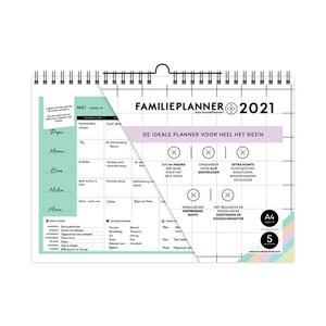 FamiliePlanner A4 voor 5 Personen