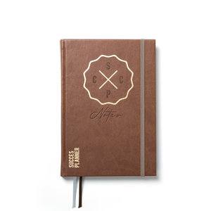SuccesPlanner Notes Chocoladebruin