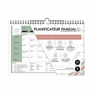 Planificateur familial X JBC en français - Non datée