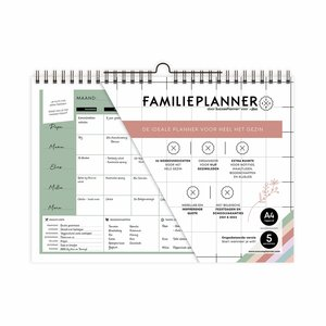 FamiliePlanner X JBC Limited edition NL